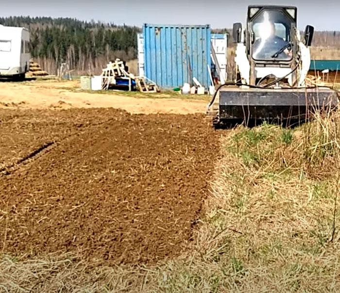 культивация почвы